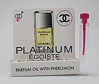 Масляные духи с феромонами Chanel Egoiste Platinum 5 ml (Реплика)
