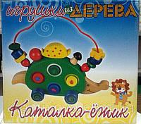"""Деревянная развивающая игрушка """"Ёжик"""", фото 1"""