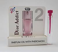 Масляные духи с феромонами Christian Dior Addict 2 5 ml, купить, цена, отзывы, интернет-магазин