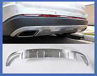 Ford Edge Передняя и задняя защиты V2 (2 шт)