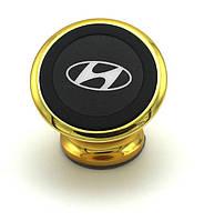 Магнитный держатель для телефона с логотипом Hyundai на торпедо автомобиля