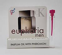 Масляные духи с феромонами Calvin Klein Euphoria pour homme 5 ml (Реплика)