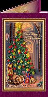 Набор для вышивки бисером «Открытка» Счастливого Рождества-1