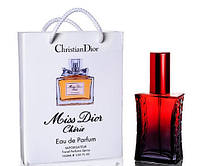 Мини парфюм Christian Dior Miss Dior Cherie в подарочной упаковке 50 ml