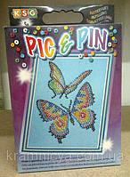 """Мозаика из бусинок """"Бабочки"""", фото 1"""