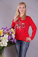 Блуза-туника трикотажная 407-осн805/1-113 полубатал оптом от производителя Украина