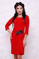Платье Лука красный
