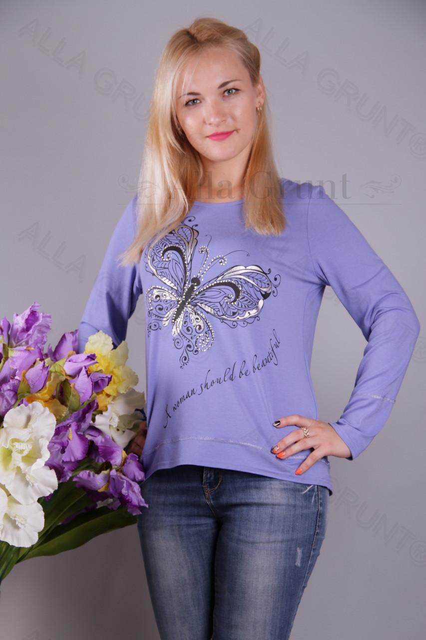 Блуза-туника трикотажная 429-осн805/1-113 полубатал оптом от производителя Украина