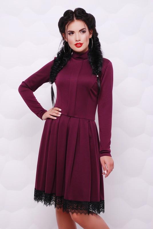 Платье Трикси марсал