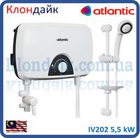 Проточный электрический водонагреватель Atlantic Ivory IV202 5,5 кВт
