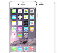 Защитное стекло matte Apple iPhone 6 Plus white