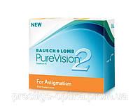 Контактные линзы PureVision2 For Astigmatism.