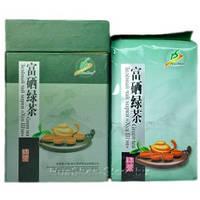 Зеленый чай Фу Щи  с высоким содержанием селена.200 гр.