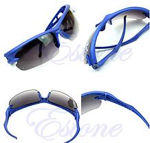 Мужские Солнцезащитные очки спортивные (серо-синие), Очки для спорта, фото 3