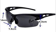 Мужские Солнцезащитные очки спортивные (серо-синие), Очки для спорта, фото 2