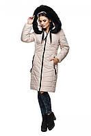 Классическая удлиненная куртка из качественной плотной ткани , матовых оттенков