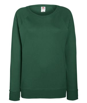 Женский легкий свитшот темно-зеленый 146-38