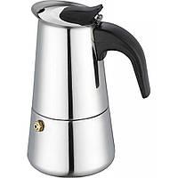 Кофеварка гейзерная Bohmann 6ч. хром BH 9506