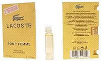 Lacoste pour femme - Parfume Oil with pheromon 5ml