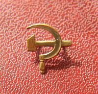 Серп и молот (СиМ) на орден Отечественной войны серебро позолота