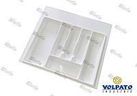 Лоток  для столовых приборов белый VOLPATO (Италия) 540 х 490