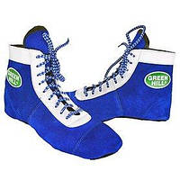 Обувь для занятий самбо (самбетки) синяя Green Hill - 45