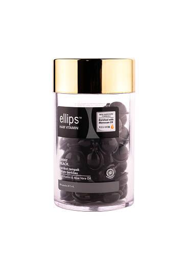 Ellips витамины для волос «Ночное сияние» с фундуком и маслом Алоэ Вера 50шт
