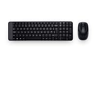 Клавиатура Logitech DESKTOP, WIRELESS COMBO MK220, RUS, EER
