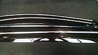 Дефлекторы окон( ветровики) с хром молдингом Skoda Superb III c 2015 г Cobra Tuning