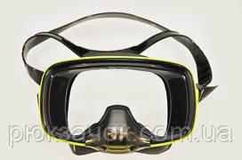 Маска для подводного плавания с моностеклом и клапаном Bs Diver Extra