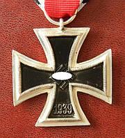ЖЕЛЕЗНЫЙ КРЕСТ II КЛАССА, ОБРАЗЦА 1939Г. НА ЛЕНТЕ, фото 1