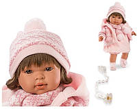 Испанская кукла Лоренс/Llorens Карла в розовом, 42 см