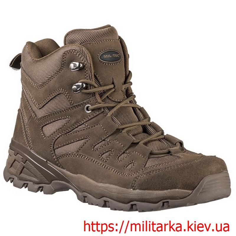 Ботинки Mil-Tec SQUAD 5 INCH коричневые