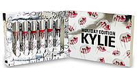 Комплект из 6 жидких матовых помад Kylie Holiday Edition (реплика)
