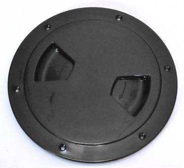 Лючок инспекционный 127mm черный, фото 2