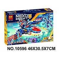 """Конструктор Nexo Knights Bela 10596 """"Самолёт-истребитель Сокол Клэя"""" 529 деталей"""