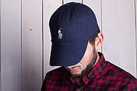 Бейсболка мужская ralph lauren polo ралф лаурен синяя кепка