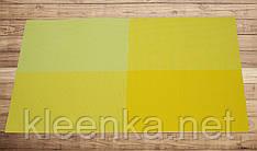 Желтая салфетка для кухни 30см*45см, серветка під столові прибори