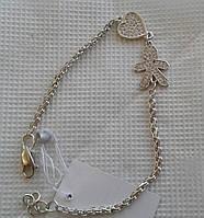 Серебряный браслет мамины детки