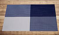 Салфетка подложка синяя на стол 30см*45см