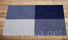 Салфетка подложка синяя на стол 30см*45см, серветка на стіл