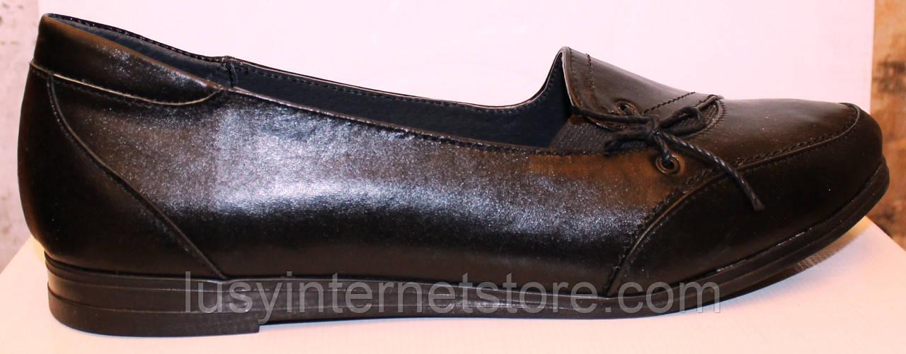 339686767 Женские туфли большого размера кожаные, женские туфли 38-43 от  производителя модель ВБ1014 -
