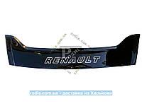 Дефлектор капота RENAULT Trafic II 2001 короткая широкая Мухобойка Рено Трафик