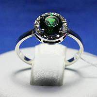 Ювелирное кольцо из серебра с цирконием 11094з