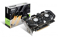 Видеокарта MSI GeForce GTX 1050 Ti 4GB OC DUAL