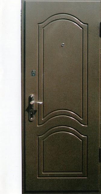 металлические двери с молотковым покрытием на заказ