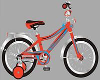 """Детский велосипед 16"""" Super Bike T-21615 red"""