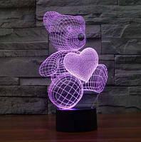 3D Светильник/Ночник