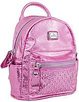 Женская сумка-рюкзак из экокожи, 1 ВЕРЕСНЯ, 553237 розовый