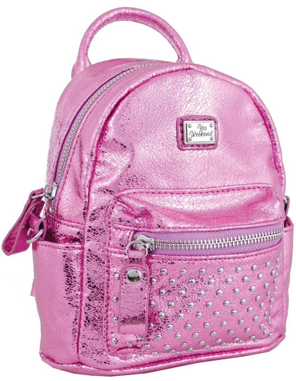1f475bc0669d Женская Сумка-рюкзак Из Экокожи, 1 ВЕРЕСНЯ, 553237 Розовый — в ...